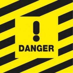 Danger carré