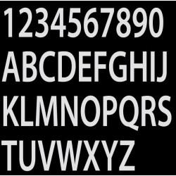 Lettres insigna blanc